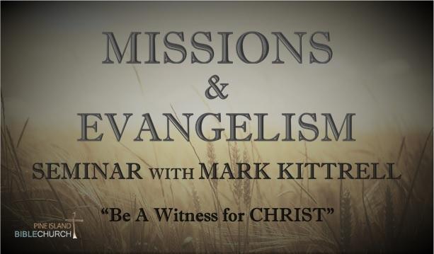 Missions Seminar - Kittrell